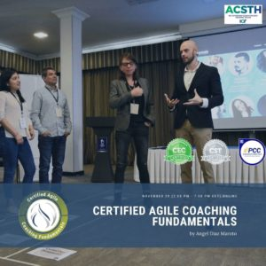 Register for Certified Agile Coaching Fundamentals course