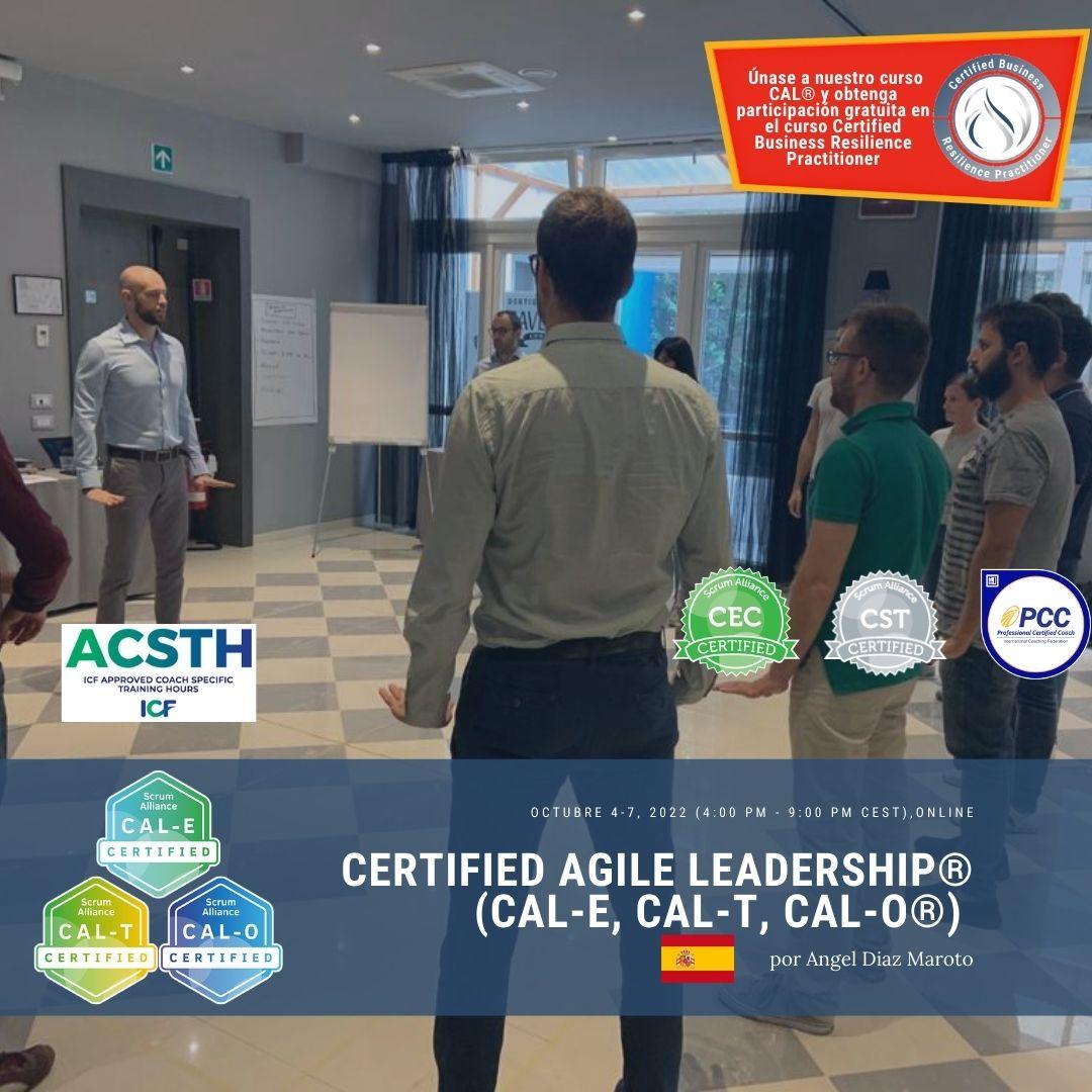 Register for Certified Agile Leadership