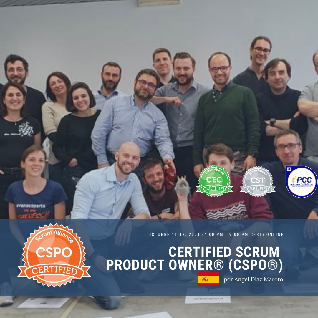 Register for Certified Scrum Product Owner